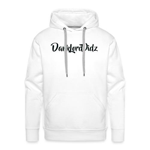 DarklordVidz Black Logo - Men's Premium Hoodie