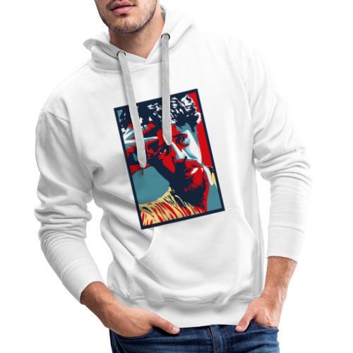 Franky Bordo - Mannen Premium hoodie