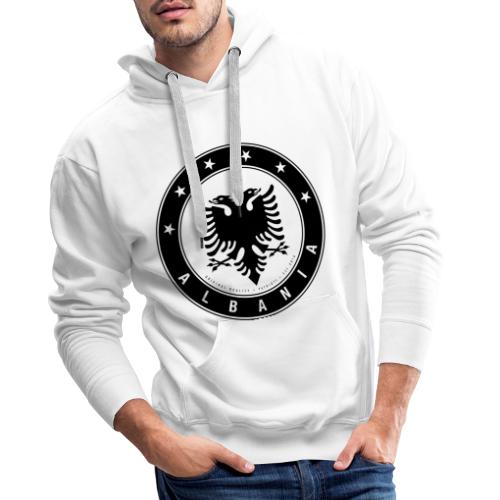 Patrioti Albania Black - Männer Premium Hoodie