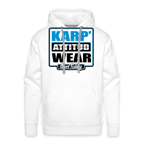 Street Fishing - Sweat-shirt à capuche Premium pour hommes