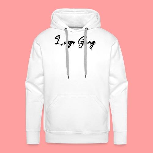 Luxzr Gang Spray - Herre Premium hættetrøje
