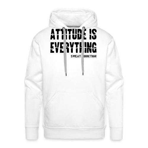 Attitude Is Everything - Miesten premium-huppari