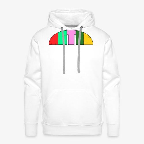 Metis rainbow logo - Men's Premium Hoodie