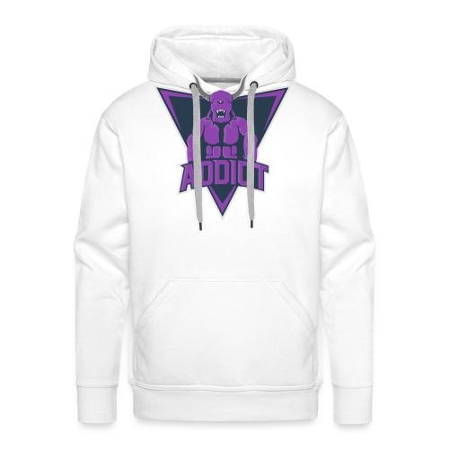 Logo Addictgrandetaille png - Sweat-shirt à capuche Premium pour hommes