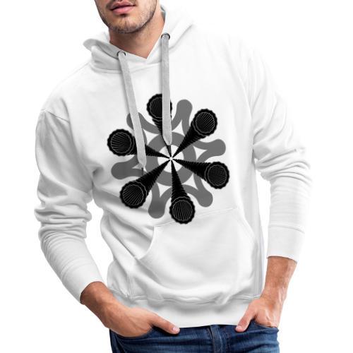 vortex - Sweat-shirt à capuche Premium pour hommes