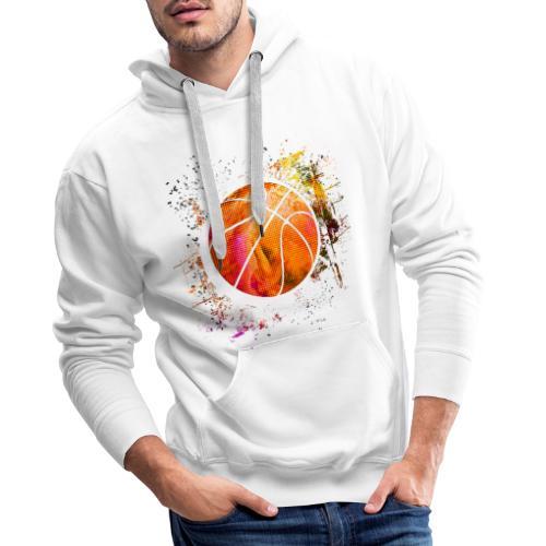 Basketball - Basketballer - Basketball Spieler - Männer Premium Hoodie