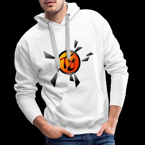 Timmy G orange - Sweat-shirt à capuche Premium pour hommes