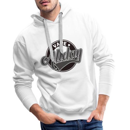 Vape Design Allday - Mannen Premium hoodie