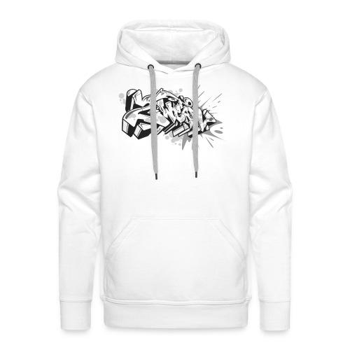 Graffiti Art 2wear Style - Herre Premium hættetrøje