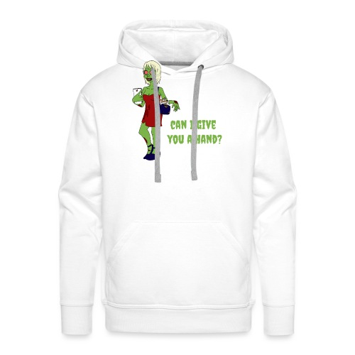 give a hand - Men's Premium Hoodie