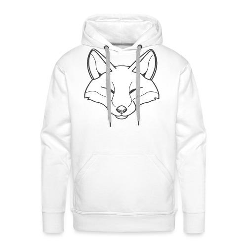 Fox logo - Männer Premium Hoodie