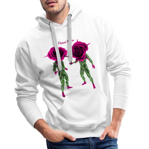 flower power t-shirt - Men's Premium Hoodie