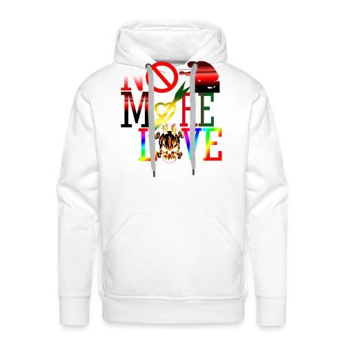 get no more love - Men's Premium Hoodie