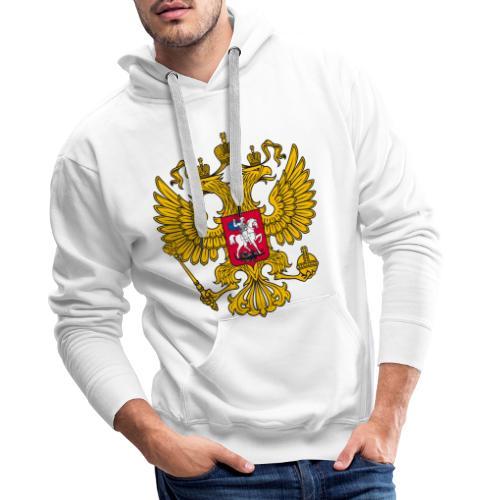 Russland-Wappen / Герб Российской Федерации - Männer Premium Hoodie