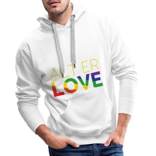 Alt er Love | SKAM | LGBT | Pride - Männer Premium Hoodie