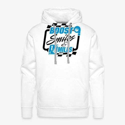 Boost Smiles & Quarter Miles - Men's Premium Hoodie