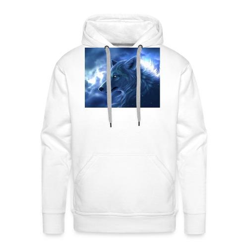 Arctic Wolf - Männer Premium Hoodie