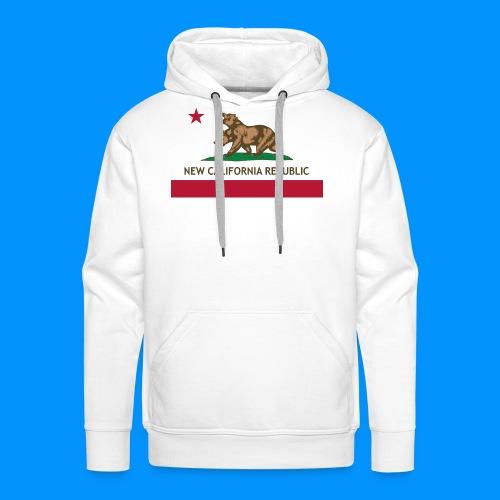 République de Nouvelle Californie - Sweat-shirt à capuche Premium pour hommes