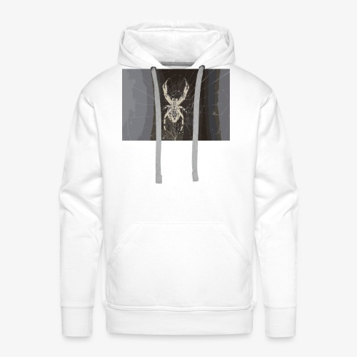 attacking spider - Männer Premium Hoodie
