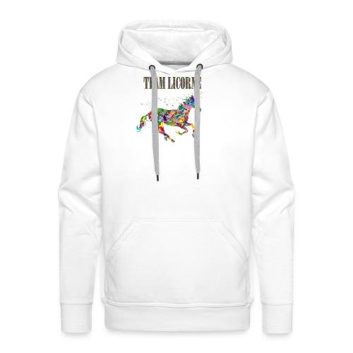 Team Licorne - Sweat-shirt à capuche Premium pour hommes
