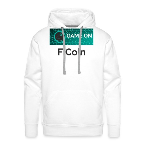GameOn Dark Tekst - Mannen Premium hoodie