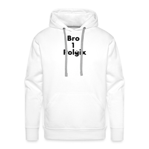 Polgix4 bro - Herre Premium hættetrøje