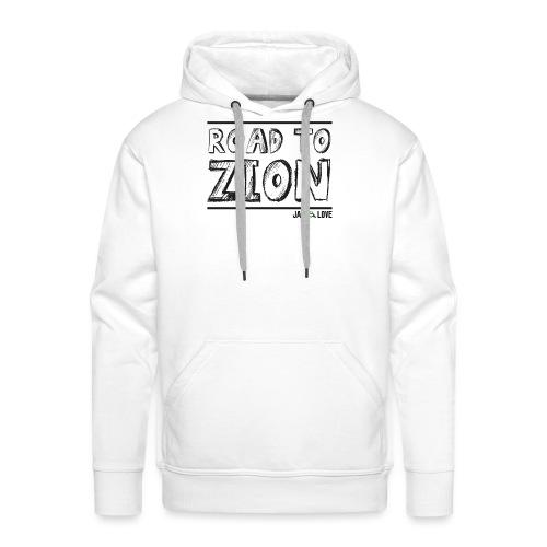 Road To Zion - Sweat-shirt à capuche Premium pour hommes