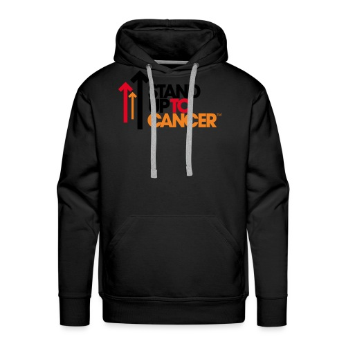 stand up to cancer logo - Men's Premium Hoodie