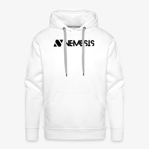 Nemesis Black Logo - Men's Premium Hoodie