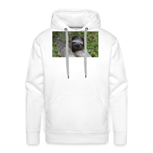 Luiaard - Mannen Premium hoodie