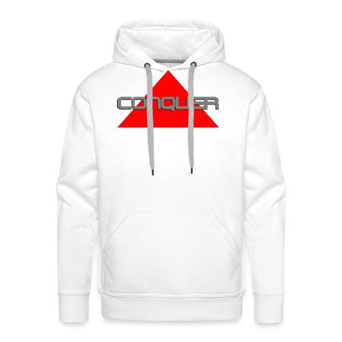 Conquer, by SBDesigns - Sweat-shirt à capuche Premium pour hommes