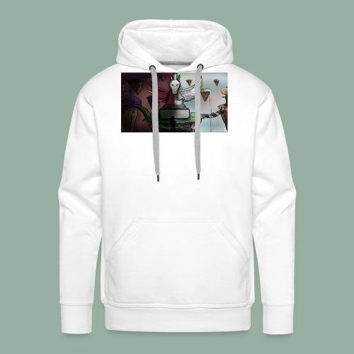 Pegasus - Sweat-shirt à capuche Premium pour hommes