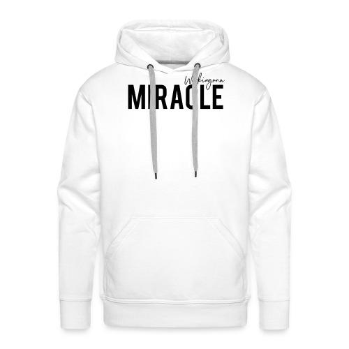 Working on a miracle IVF Top - Men's Premium Hoodie