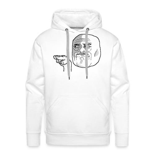 Emoticon meme I Watching You png - Mannen Premium hoodie