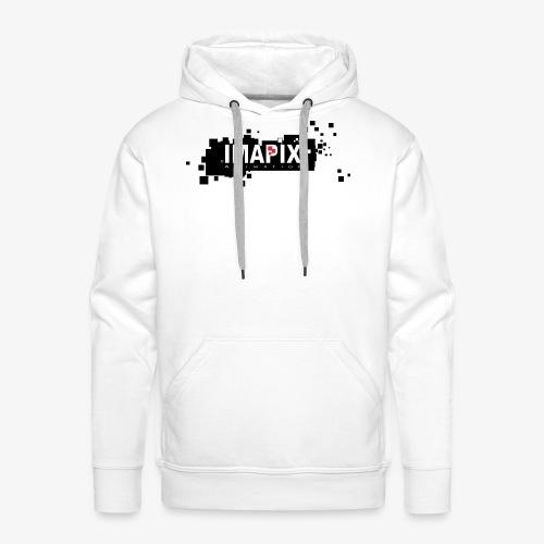 IMAPIX ANIMATION Rectro02 - Sweat-shirt à capuche Premium pour hommes