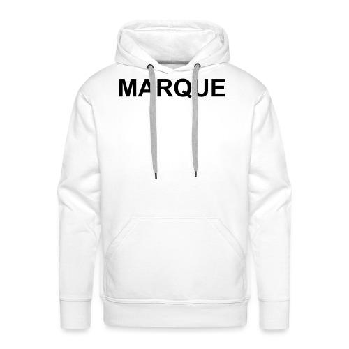 MARQUE - Sweat-shirt à capuche Premium pour hommes