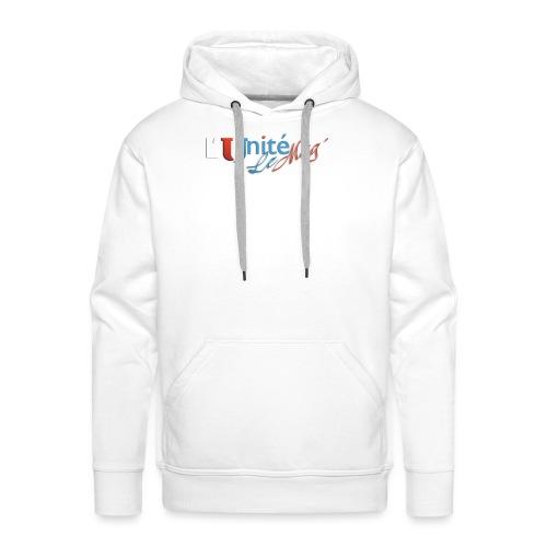 L´Unité le Mag - Sweat-shirt à capuche Premium pour hommes