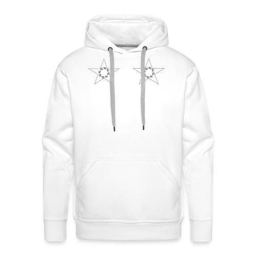 double stars - Sweat-shirt à capuche Premium pour hommes