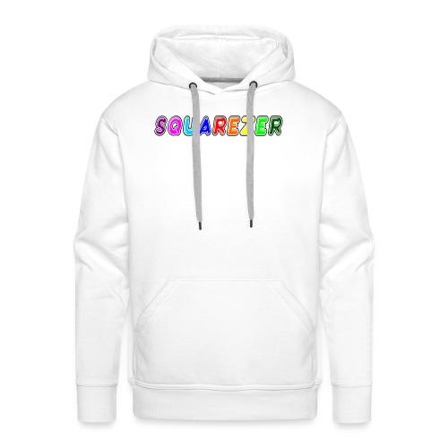 Buble Square - Sweat-shirt à capuche Premium pour hommes
