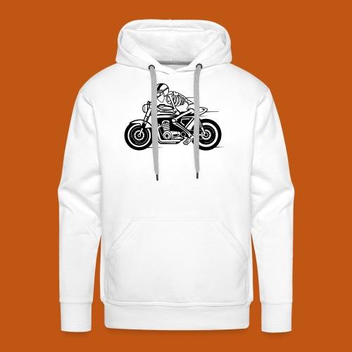 Cafe Racer Motorrad 05_schwarz - Männer Premium Hoodie