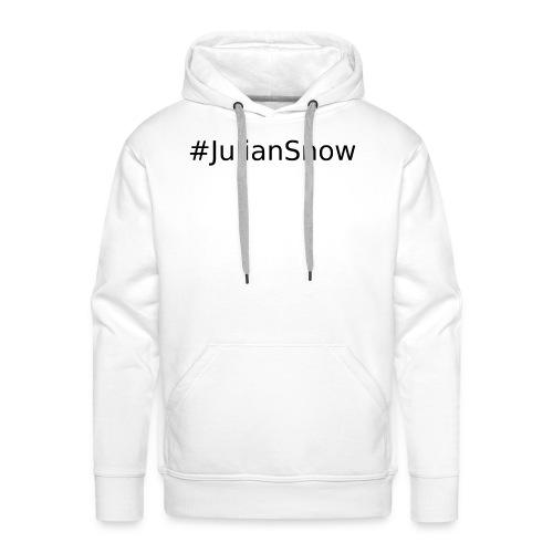 #JulianSnowBlack - Bluza męska Premium z kapturem