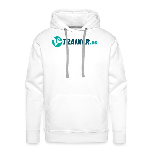 VTRAINER.es - Sudadera con capucha premium para hombre