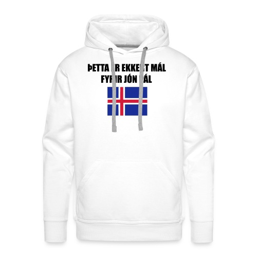Jón Páll Tee - Premiumluvtröja herr