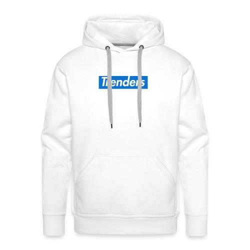 logo oficial trenders grande - Sudadera con capucha premium para hombre