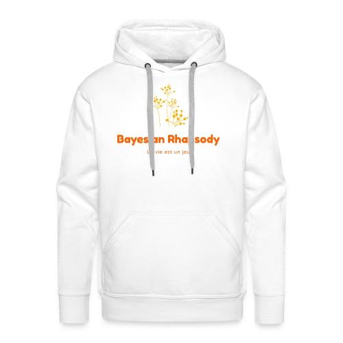 Bayesian Rhapsody Original Orange classique - Sweat-shirt à capuche Premium pour hommes
