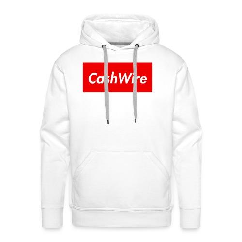CashWire Box Logo Apparel - Men's Premium Hoodie