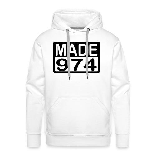 Made 974 - v2 - Sweat-shirt à capuche Premium pour hommes