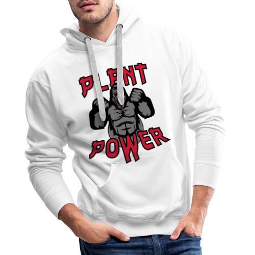 Plant Power - Männer Premium Hoodie
