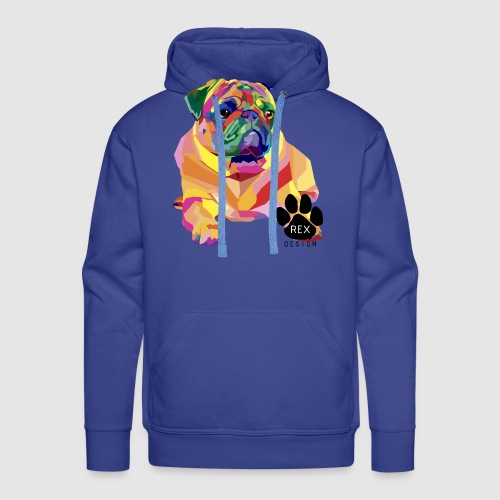 A Pug Life - Men's Premium Hoodie
