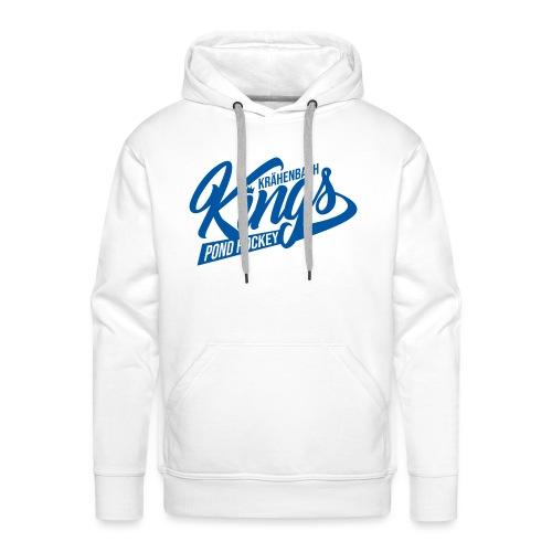 KINGS Logo 2019 einfach blue - Männer Premium Hoodie